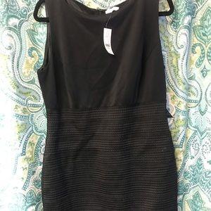 NWT black bandage dress